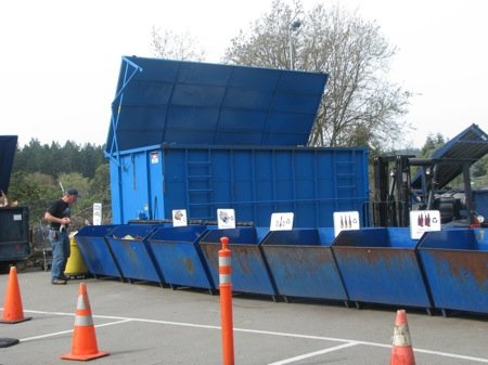 Island County Recycle Park in Langley
