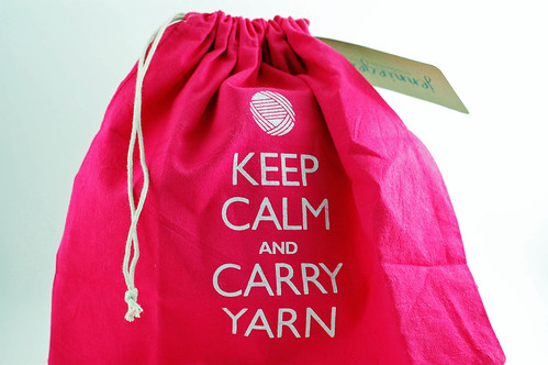 Keep Calm Project Bag 01