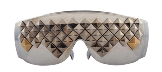 Peanut Butter & Jelly studded shades 1