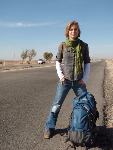 Holly hitchhiking, Palmyra