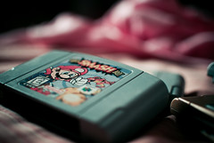(Isai Alvarado) Tags: old light cinema game film 35mm movie bed kirby nikon focus dof play bokeh nintendo mario cine fox pikachu pokemon zelda mariobros cinematic bros luigi oldie metroid dx nintendo64 vitage supersmashbros supermariobros d80