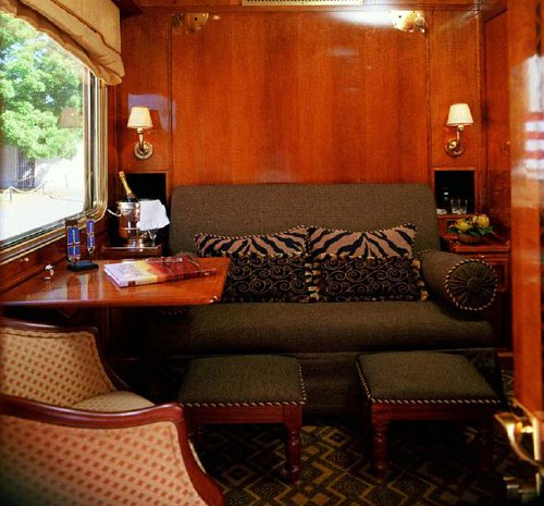 Blue Train (South Africa) - De luxe cabin