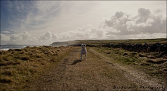 My little dog - a heartbeat at my feet. (Babstar) Tags: ireland jessie landscape path thelittledoglaughed babstar