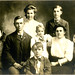 Hippensteel, Clarence and Eliza family about 1908