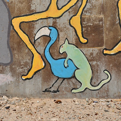 (Polish Sausage Queen) Tags: california ca old art love sex penis graffiti boobs roadtrip abandon saltonsea beastiality slabcity crosscountryroadtrip coloradodesert niland karmasutra acrossamerica theslabs abandonwatertankoflove