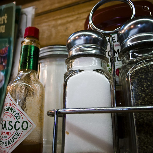 Salt, Pepper, and Tabasco