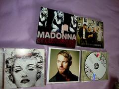 CDs de abril (marcosvlmoraes) Tags: madonna revolver boyzone stickysweettour