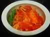 stewed chicken in cali bowl