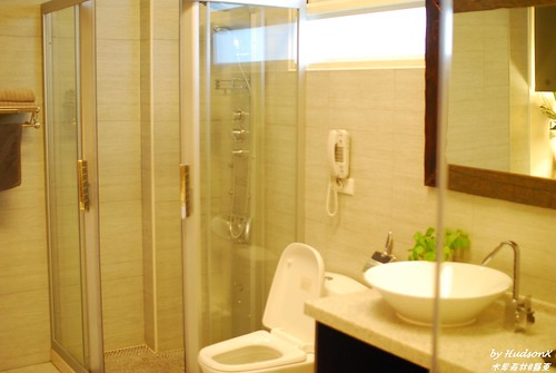 浴室乾濕分離的高級淋浴設備