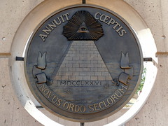 eye (japanesejack) Tags: city oklahoma memorial united great national seal states reverse novus ordo seclorum annuit coeptis