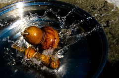 Viva Chile ! (Fulfuruberto) Tags: casa agua experimento altavelocidad emboque