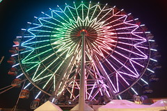 The Colorful Hello Kitty Ferris Wheel (Ultima_Bruce) Tags: hello wheel play kitty ferris kaohsiung shoppingmall enjoyment fasion shpooing joyment thinkinginthefuture dreammallshoppingmall kitty