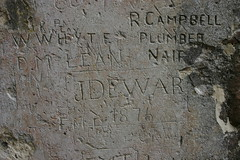 Graffiti at Castle Urquhart