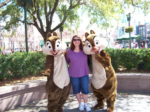 Me with Chip n Dale