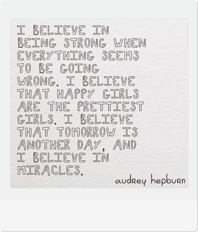 I Believe by Audrey Hepburn