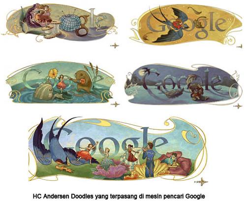 hc andersen doodles, komik hc andersen, hc andersen comic, books, buku hc andersen, cerpen, cerita anak, denmark