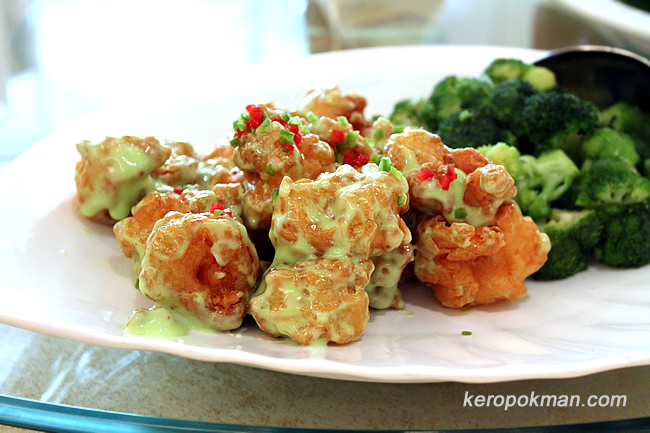 Wasabi Prawn with Broccoli