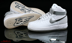 Futura  New York Yankees Air Force 1 Hi Supreme