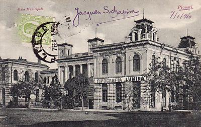 Palatul Bailor - 1910
