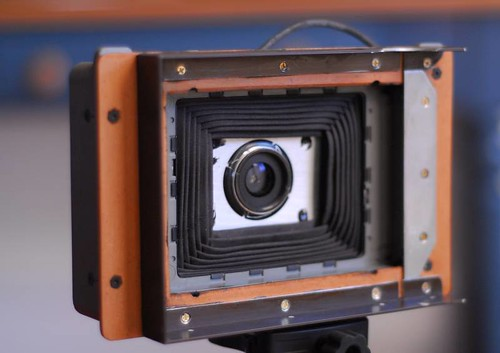 Converted Polaroid 340