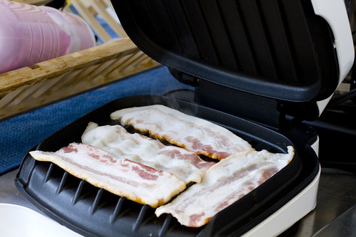 bacon on foreman grill