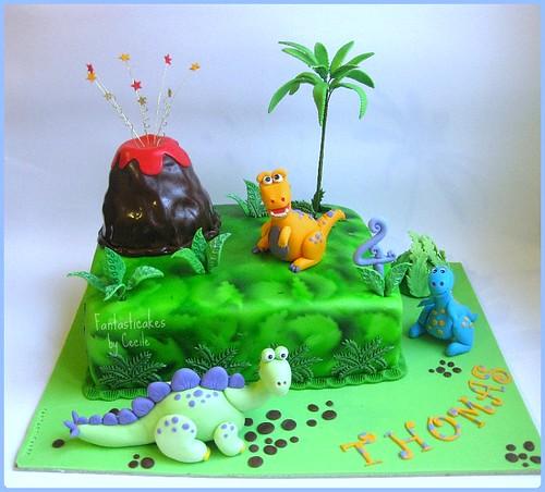 Torta Dinosauri / Dinosaurs Cake