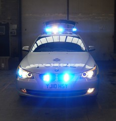 North Yorkshire Police - Brand new BMW 530d Touring Traffic Car (Police_Mad_Liam) Tags: blue cars station lights traffic respect yorkshire north police led emergency services 999 tadcaster lightbar