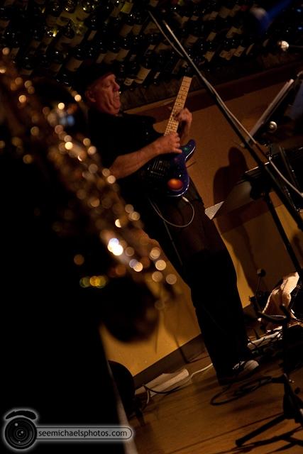 Paul Seaforth's Mo Sax at Dizzy's 41710 © Michael Klayman-005