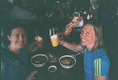 Clare & Jenny Celebrate Half Marathon