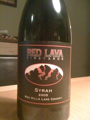 2005 Red Lava Syrah