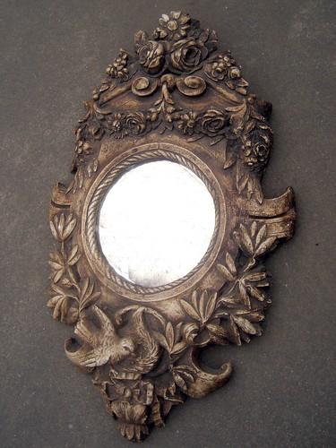 Horsehair Plaster Mirror