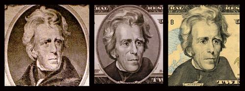 Andrew Jackson portraits