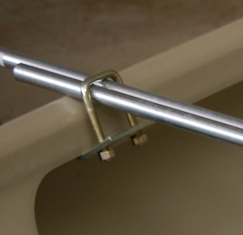 U-bolt beam clamp