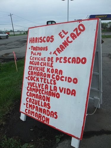 Menu at Las Delicias II