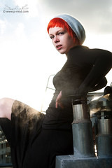 [ZIVITY] Nya - Amsterdam mijn vriend (P_mod) Tags: roof amsterdam smoke redhair suicidegirls nya pmod zivity