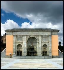 FUENTE DE LOS TRES CAOS (stavlokratz) Tags: madrid espaa arquitectura neoclasicismo boadilladelmonte venturarodrguez
