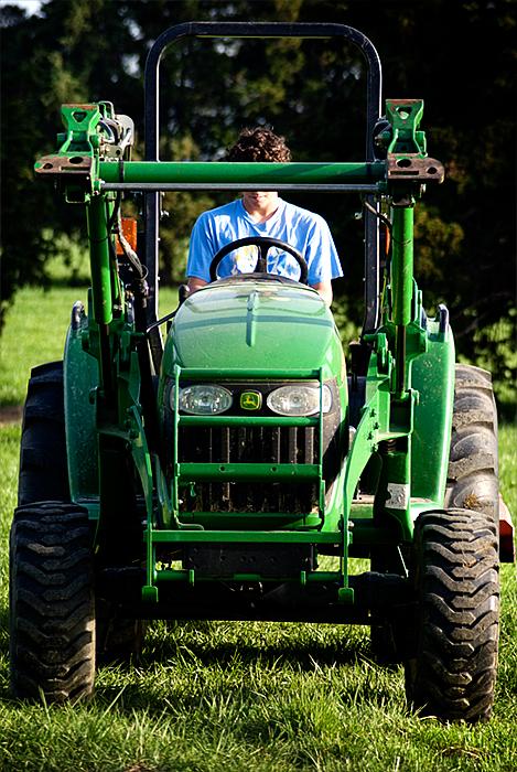 caelan on tractor 2