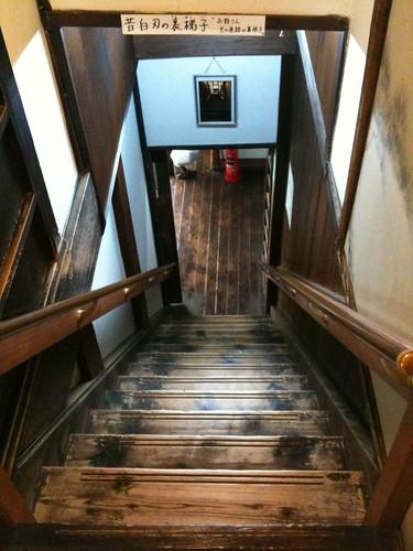 寺田屋の階段