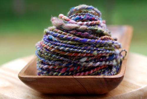 v handspun yarn 055