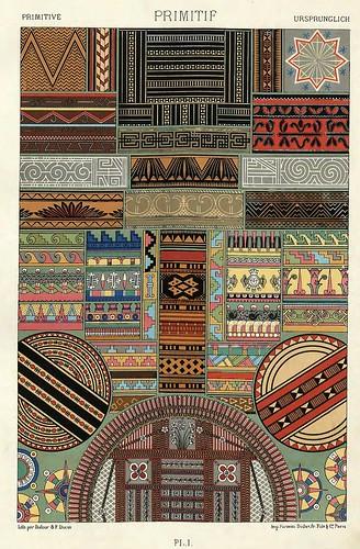 001-Ornamentos policromados primitivos-Das polychrome Ornament…1875
