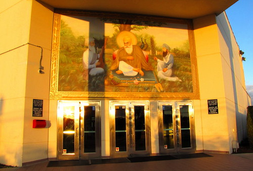 Gurdwara Nanak Niwas, Centre Culturel Inde du Canada sur No. 5 Road Richmond BC