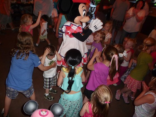 as close as she got to minnie.