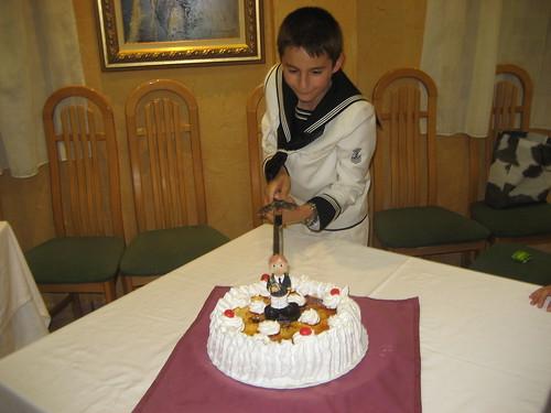 Ignacio, suicidando la Tarta