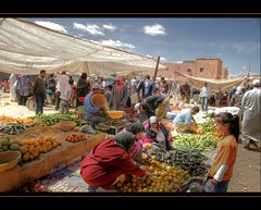 The Colorful Market at Tinejdad (scrabble.) Tags: colorful market morocco marketplace marokko marktplaats tinejdad weeklymarket almarib