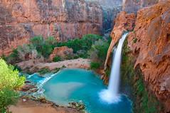 Havasu Falls (mikewheels) Tags: arizona nature landscape waterfall falls havasu havasupai mikewheels