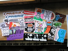 Recent pack send out (freaQ) Tags: urban streetart happy sticker stickerart character paste stickers cartoon vinyl adhesive printed handdrawn combo stickercombo straatkunst stickerpack freaq stickertrade