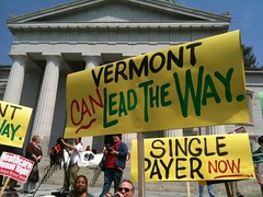 Vermont Single-Payer Health Care Rally