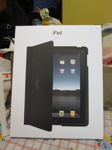 Apple's iPad Case - the box