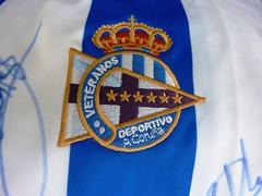 Escudo de los veteranos del Depor.