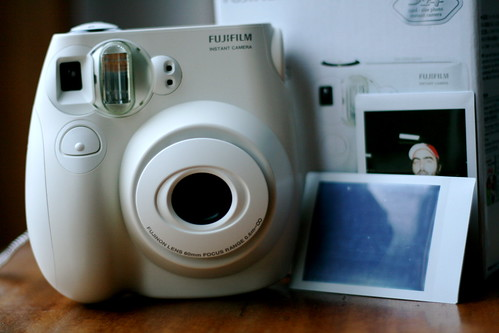 Monday: My Fuji Instax Mini arrived!